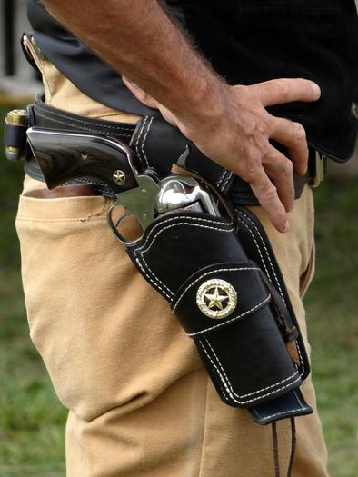 PHOTO: It's a topic with a great emotional divide: Do guns in schools increase the risk of danger or reduce it? A group of parents that believes the former has launched a petition to change state law. Photo credit: DodgertonSkillhause/morguefile.