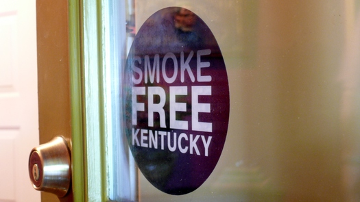 PHOTO: A group of fourth-grade students has made passing a smoke-free law in Middlesboro their civics project. Their City Council votes on it this week. Photo credit: Greg Stotelmyer.