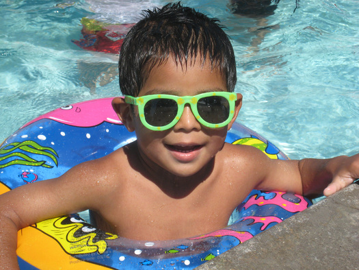 PHOTO: Summertime in Arizona can be a deadly season in backyard swimming pools and on lakes and rivers, but National Drowning Prevention Month each May stresses water safety. Photo credit: City of Phoenix.