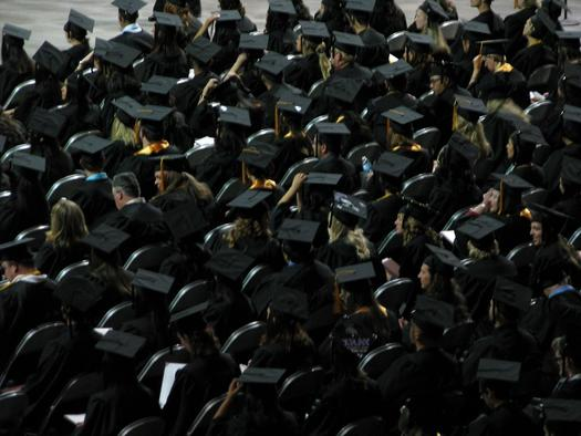 PHOTO: Florida is in the top 10 when it comes to states with an increase in high school graduation rates, according to a recent report by Civic Enterprises and the School of Education at Johns Hopkins University. Photo credit: Ricky Ochs/Morguefile.