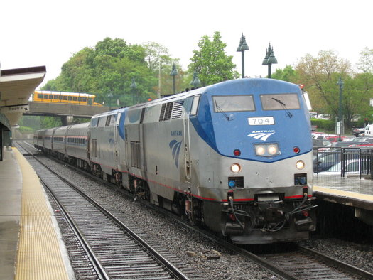 PHOTO: Senator Chuck Schumer (D-NY) says budget battles in Congress are forcing Amtrak to choose between important safety upgrades like whether to repair an outdated bridge or install positive train control. Photo credit - Wikimedia - Jaunted.com