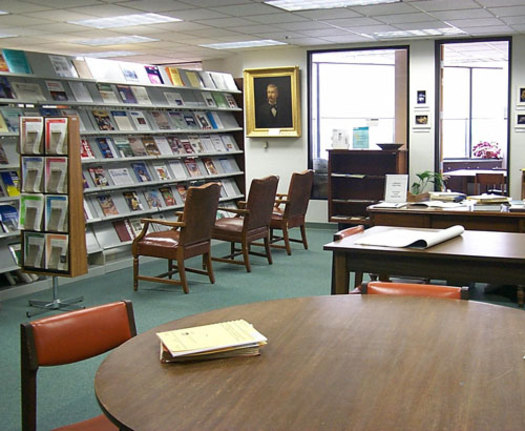 PHOTO: Studying for the GED or learning English in Nevada can usually be accomplished at no cost through the local library. Photo courtesy of U.S. Geological Survey.
