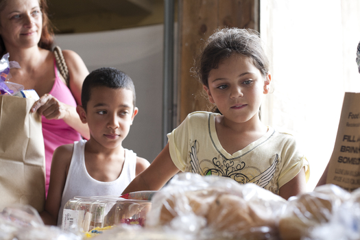 PHOTO: Students who rely on free and reduced-priced meals during the school year turn to Summer Food Service Programs. But there are many communities in Ohio where programs are not available or are difficult to access. Photo courtesy Feeding America.