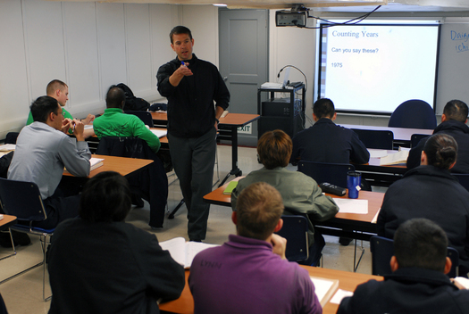 PHOTO: A proposal being considered by the Wisconsin state legislature would essentially eliminate teacher licensing standards in the state. The proposal, which is part of the state budget package, is opposed by nearly every education and teachers' organization in the state. Photo credit: U.S. Navy