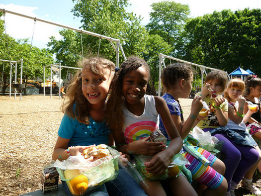Idaho is the top 10 in successfully serving summer meals to low-income students, according to a new report from the Food Research and Action Center. Credit: USDA.