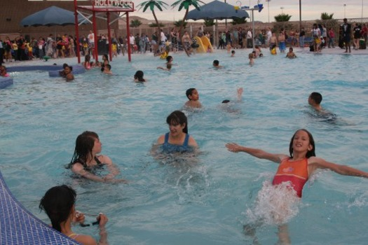 PHOTO: Summertime in Nevada can be a deadly season in backyard swimming pools and on lakes and rivers, but National Drowning Prevention Month each May stresses water safety. Photo credit: Clark County, Nevada.