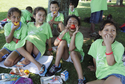 A new (FRAC) report find other states are catching up, but Massachusetts still is among the tops in the nation in getting nutritious summer meals to kids. Credit: Michael Dwyer