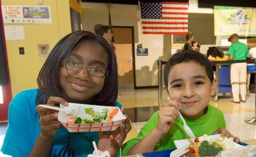 PHOTO: The Summer Nutrition Program funded by the U.S. Department of Agriculture is helping more children in New Mexico and around the nation, according to a new report from the Food Research and Action Center. Photo credit: California Department of Food and Agriculture.