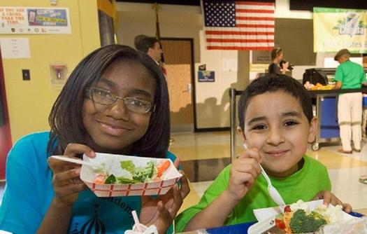 PHOTO: While progress has been made nationally, Virginia saw a sight step back in the number of qualified, low-income children in summer feeding programs in the commonwealth in 2014. Photo courtesy of LetsMove.gov