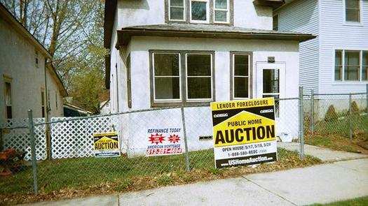 PHOTO: While foreclosure filings are down in Ohio, a new report from Policy Matters Ohio finds they remain higher than before the rise in predatory lending made the state a leader in foreclosures. Photo credit: hoff_john/Flickr.
