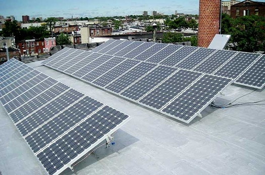 PHOTO: A new report documents how five U.S. cities have leveraged solar to lower municipal energy bills, taxes and pollution. Photo credit: U.S. Department of Energy.