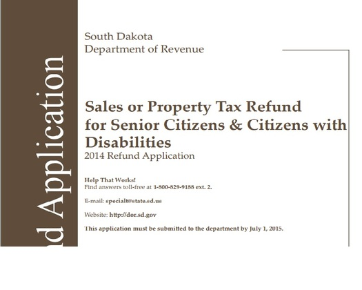 July 1 deadline for eligible seniors and people with disabilities to apply for a tax refund. Credit: Jerry Oster/GDNS.