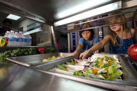 PHOTO: A new poll finds 76 percent of public school parents in Minnesota support requiring public schools in the state to meet the national nutrition standards for school meals. Photo credit: U.S. Department of Agriculture/Flickr.