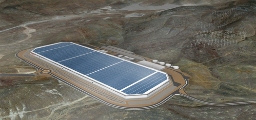 PHOTO: Pope Francis says it's important for the world to do more to curb climate change. The Tesla Motors' gigafactory being built near Reno is an example of how the state can benefit economically from renewable energy. Photo courtesy of Tesla Motors.