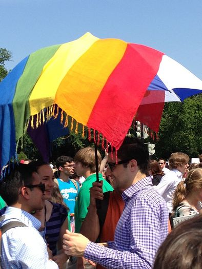 Equal rights advocates plan next steps after U.S. Supreme Court marriage equality ruling. Credit: Neon Tommy, Wikimedia Commons.