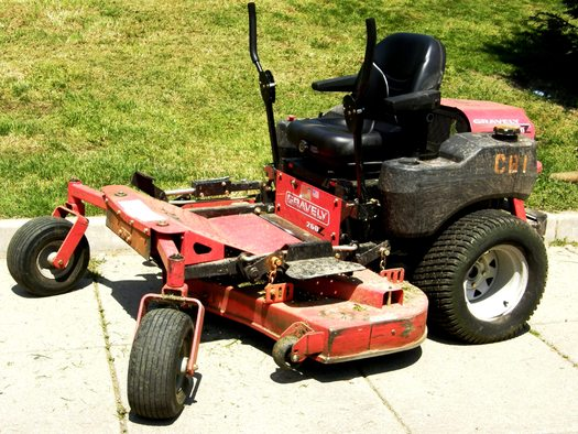 Doctors are concerned about a rise in the number of mower-related injuries to kids this year. Credit: Kroesseel/Morguefile