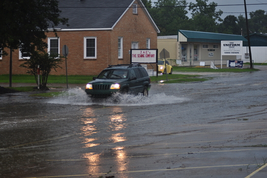 PHOTO: A report on urban flooding from the Illinois Department of Natural Resources finds many storm drain systems were simply not designed to accomodate the downpours the state has experienced in recent years. Photo credit: Photojock/Morguefile.
