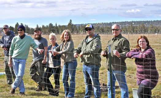 Plans are well under way for a sustainable farm and ranch operation to be run by veterans. The nonprofit Central Oregon Veterans Ranch purchased the land near Bend in 2013. Credit: Howard Gorman.