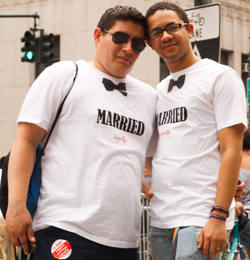 PHOTO: Same-sex couples who marry are eligible for health coverage under the Affordable Care Act outside of the open enrollment periods, but they need to act within 60 days of their marriage. Photo credit: Jose Antonio Navas/Flickr.