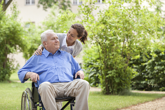 The work being done by Minnesota's unpaid family caregivers is valued at nearly $8 billion a year. Credit: Fred Froese.