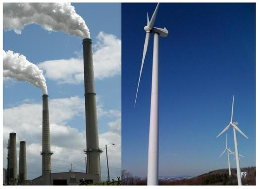 Research is finding an EPA plan to reduce carbon emissions should actually cut electricity bills, if it uses energy efficiency as well as renewables. Photo montage by Evan Hansen.