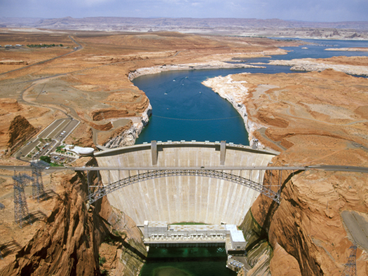Recognizing Arizona's success in conserving and preserving water from the Colorado River is part of the message attached to Colorado River Day on Saturday. Credit: U.S. Bureau of Reclamation.