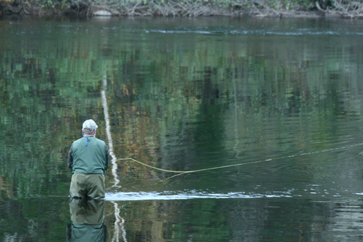 Hunting and fishing contribute half a billion dollars to Maine's economy and a new (NWF) survey shows wide bipartisan report for extending EPA Clean Water protections to smaller rivers and streams. Credit: Missing Lynx/NRCM.