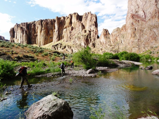 Hikes along the West Little Owyhee River are just one option for outdoor recreation in the Owyhee Canyonlands. Eight conservation groups have formed a coalition to protect the area as federal wilderness. Credit: Jeremy Fox/Owyhee Coalition.
