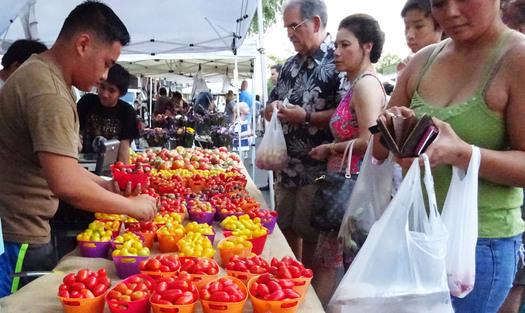 It's National Farmers Market Awareness Week in the Gem State. Credit: Deborah C. Smith.