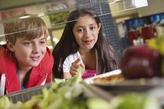 More than 200 districts in the state take part in Farm to School programs. Credit: Steve Debenport.