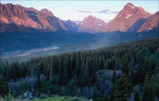 Badger-Two Medicine near Glacier National Park is one of the featured locales in the 2015 Too Wild to Drill report from The Wilderness Society. Credit: U.S. Department of Interior.