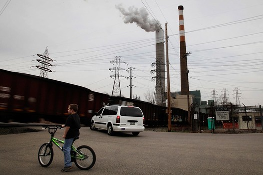 Advocates for cleaner air say those living closest to coal-fired power plants will benefit the most from the EPA's new pollution rules. Credit: Chris Jordan-Bloch/Earthjustice.
