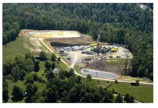 A new fracking process is designed not to use any surface water at all, and to reduce the amount of waste that comes from the wells. Photo courtesy of the Sierra Club.