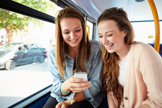 Young people such as those seen here increasingly prefer using public transportation over driving a car. That's the finding of research from the Arizona Public Interest Research Group. Courtesy: Arizona PIRG