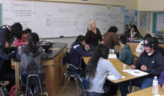 Sleep deprivation in middle and high school students linked to sleep deprivation is linked to drinking alcohol, smoking tobacco, using drugs and poor academic performance. Credit: U.S. Department of Education