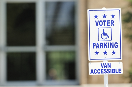 Iowans with disabilities are among those being urged to get on the rolls today as the Hawkeye State celebrates National Voter Registration Day. Credit: Steve Shepard/iStockPhoto.