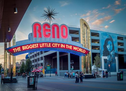 Nevada's economy is back in the black and breaking records following the Great Recession. Courtesy: City of Reno