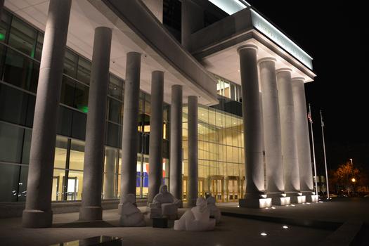 The Ralph L. Carr Colorado Judicial Center in Denver, office of state Attorney General Cynthia Coffman. Credit: Colorado Judicial Branch.