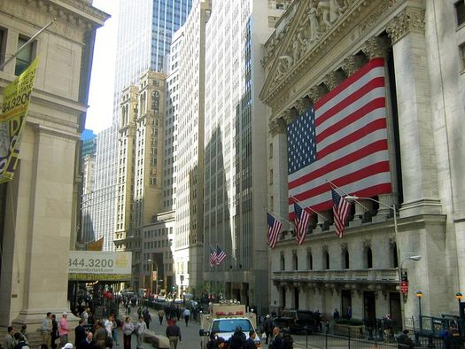The stock market's wild swings and record drop in August are being cited as reasons for Congress not to consider even partial privatization of Social Security. Credit: MarhsallN20/Wikimedia Commons