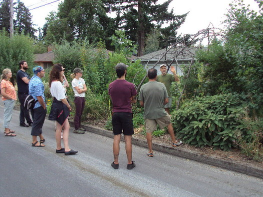 Tours of permaculture in action are part of this weekend's Northwest Permaculture Convergence in Eugene. Credit: Northwest Permaculture Convergence