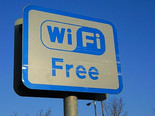 It may be free but public Wi-Fi can come with a price. Credit: Karen Bryan/Flickr