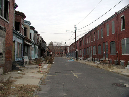 One out of five children in the Philadelphia area lives in deep poverty. Credit: Phillies1fan777/en.wikipedia