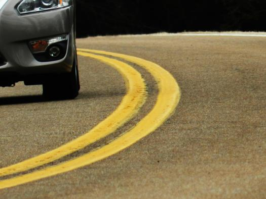 The Tennessee state Supreme Court is taking up the question of when police have the right to pull a motorist over for a lane line violation. Credit: Pippalou/Morguefile.