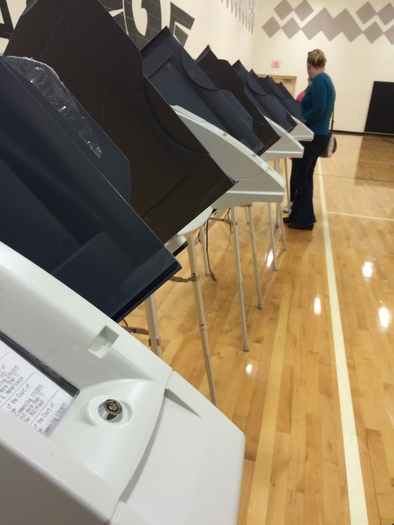 Most Ohio counties are using electronic voting machines that are 10 years old. Credit: M. Kuhlman