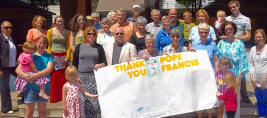 Faith communities in Indiana are standing with Pope Francis' message on climate change. Credit: Mike Oles