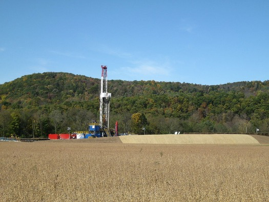 Pennsylvania is the second largest natural gas producing state in the country. Credit: Ruhrfisch/Wikimedia Commons.