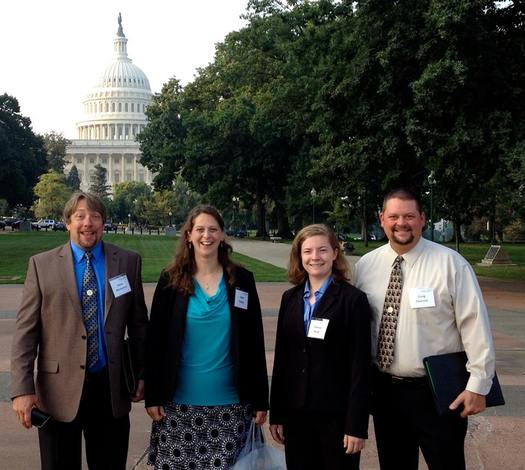 As the U.S. Senate prepares to debate the Safe and Accurate Food Labeling Act, members of the New England Farmers Union say transparent labeling is in the best interest of both farmers and consumers. Courtesy: NEFU.