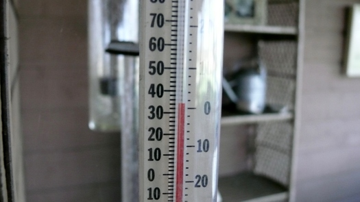 The thermometer is looking like winter in Kentucky, a reminder that January 11 is when the federal crisis heating assistance program begins. (Greg Stotelmyer)