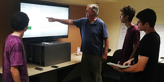 A San Diego nonprofit is training web developers for free in an effort to keep technology jobs in the U.S. Credit: SoftStack Factory