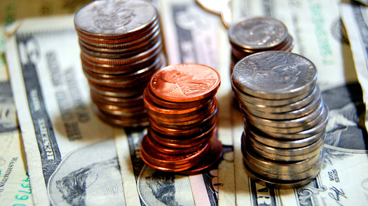 Eighteen state legislators are taking the minimum wage challenge, living on $17 a day. Credit: Cohdra/morguefile
